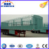 Hot Sale Tri-Axles 50 Tons Fence Stake Livestock Animal Transport Utility Cargo Trailer at Reasonable Price