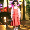 Custom Sweet Girls School Uniform Pinafore Dress