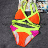 Sex Yellow Crocheting Bikini for Women/Lady, Swimwear Swimsuit Beach Wear