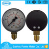 Accuracy 1.6 Dial 60mm Plastic Case Pressure Gauge Brass Connection