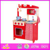 2014 Kids Playing Wooden Kitchen Set, Happy Play Fun Microwave Oven for Children, Cute Baby Wooden Kitchen Set with En71 W10c072