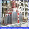Building Double Cage Painting Mast Section Construction Hoist