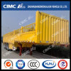 Cimc Huajun 3axle Gooseneck 1-Group-Stake Cargo Semi Trailer