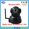 Security Camera Network IR Night Vision 10m with WiFi IEEE802.11b/G (HSY-F136)
