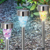 Solar Mosaic Path Lights, Landscape Lawn Lamp, Garden Solar Light