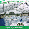 Clear Wedding Tent with Tables and Chairs