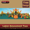 En1176 Interesting Plastic Children Outdoor Playground (12055A)
