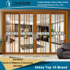 Aluminum/Aluminium Sliding Door with Double Glass