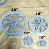 "Plastic Bicycle Wheel 20"" 16"""