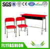 Factory Price Cute Double Children Desk and Chair (SF-31C)
