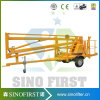 6m 10m Towable Trailed Boom Manlift
