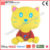 Custom Soft Cat Plush Mascot Stuffed Toys for Promotion