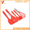 5PCS Silicone Turner Spatula Spoonula Mixing Spoon Slotted Spoon Ladle Kitchen Cooking Set Silicone Kitchen Utensil Set