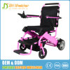 FDA 8 Inch Light Weight Brushless Foldable Powerful Electric Wheelchair