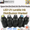 UV Curable Ink for. Epson Dx4. Dx5. Dx6. Dx7. Dx8 Print Heads