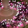 Waterproof Firecracker Lights 400 LEDs Fairy Color Light for Wedding, Festival Party Decort