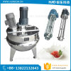 Stainless Steel Food Industrial Steam Cooking Kettle with Agitator