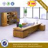 Glass Table Top Triangle Metal Leg Boss Desk /Table (HX-8NE015C)