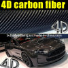 High Quality 4D Glossy Carbon Fiber Vinyl for Car Wrap