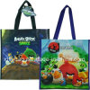 Birds with Space Non Woven Handbag Tote Bag
