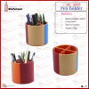 Bright-Colored Multifunction PU Leather Pen Box (6449)