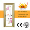 New Design Temped Glass Aluminum Bathroom Doors (SC-AAD051)