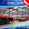 Extendable 5 Steering Axles Low Bed Trailer with Lifting Axis