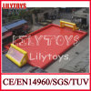 Lilytoys Customized Red Color Inflatable Soap Football Field with Water (J-SG-027)