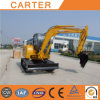 Hot Sales CT45-8b (4.5t) Backhoe Mini Digger with Rubber Tracks