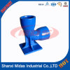 Epoxy Coating Ductile Cast Iron Double Socket with Duckfoot Short Radius 90 Bend/Elbow
