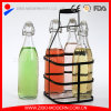 High Quality Airtight Water Bottle 1L Glass Bottle Set