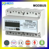 60A Three Phase DIN Rail Energy Meter Modbus RS485 Electrical Instrument