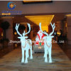 LED Crystal Reindeer Sleigh for Christmas Decoration (BW-SC-248)