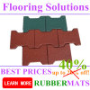 on Sales Dog Bone Shape Rubber Flooring Tiles Cheapest Price