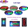 High Bright LED Open Sign ATM Sign