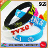 Embossed Silicone Bracelet Wristband (TH-9365)