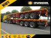Longdi Brand 40ton 3 Axle Flatbed Semi-Trailer 9401tdp
