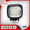 Waterproof IP68 48W 24V LED Sopt and Flood Beam Work Light