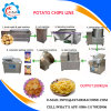 100kg/H French Fries Semi Automatic Potato Chips Plant for Sale