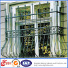 Outdoor Wrought Iron Balcony Safety Fence / Galvanized Steel Veranda Railing