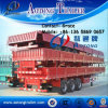 Chine Manufacturer Tri-Axle Side Wall Open Column Board Cargo Truck Trailer