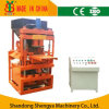Automatic Hydraulic Cement+Soil Interlock Brick Making Machine