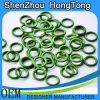 Green Fluoro Rubber O-Rings / O- Rings
