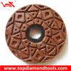Diameter 125mm Edge Diamond Polishing Pads