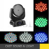 108*3W Wash RGBW 4in1 LED Moving Head Light with Zoom