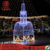Large Outdoor 3D Holiday Commercial Place Decoration Light for Christmas
