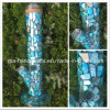 14inch Ocean Blue Glass Water Pipes with Shell