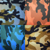 Popular, Wearable Camouflage PU Faux Leather for Garment
