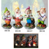 Resin Craft Gnome with Solar Light