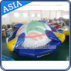 0.9mm PVC Tarpaulin Material Water Games Type UFO Inflatable Disco Boat